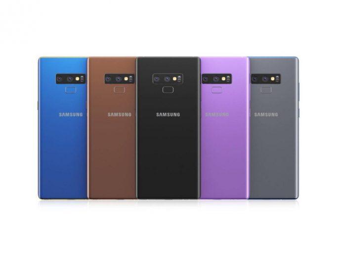 Galaxy Note 9: Farben (Bild: OSCH)