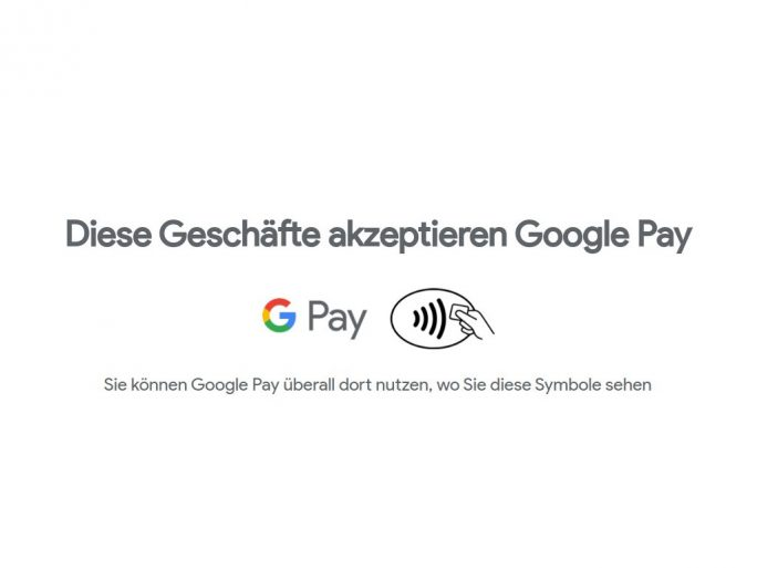 Google Pay startet in Deutschland (Screenshot: ZDNet.de)