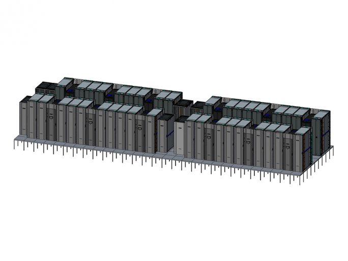 HPE Astra: Supercomputer auf ARM-Basis (Bild: HPE)