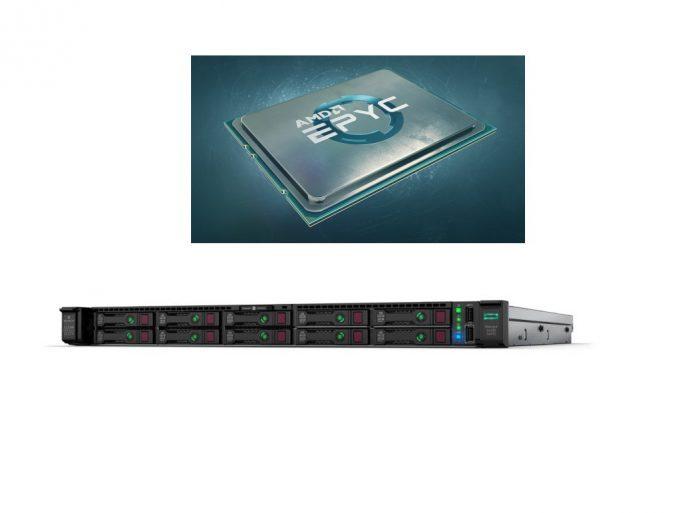 HPE Gen10 DL325 mit AMD Epyc (Bild: ZDNet.de)