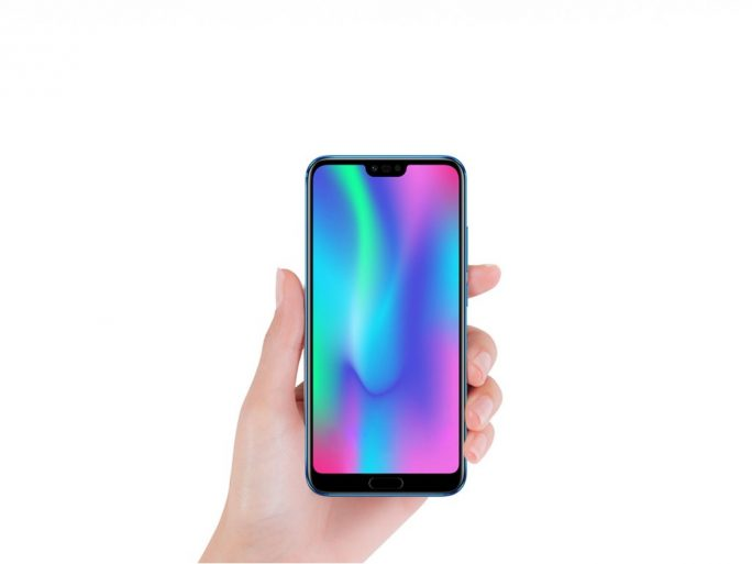 Honor 10 mit Display-Einkerbung (Bild: Honor)