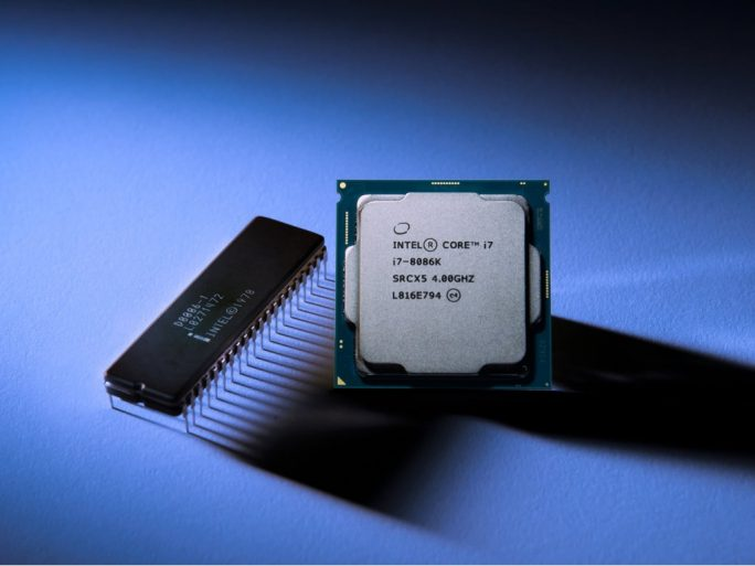 Intel Core i7 8086K mit 5 GHz (Bild: Intel)