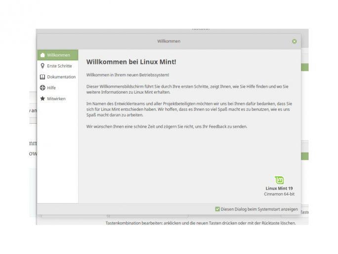 Linux Mint 19 Cinnamon (Bild: ZDNet.de)