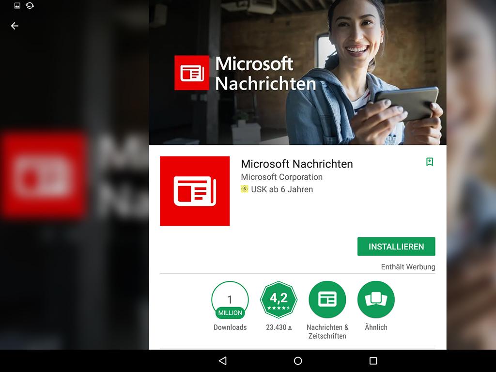 Microsoft Nachrichten: App für Android, iOS ersetzt MSN Nachrichten