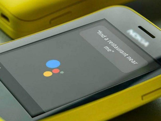 Nokia mit Google-Assistant (Bild: KaiOS)