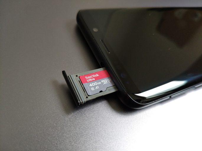 SanDisk Ultra 400 GByte microSD-XC-A1 (Bild: ZDNet.de)