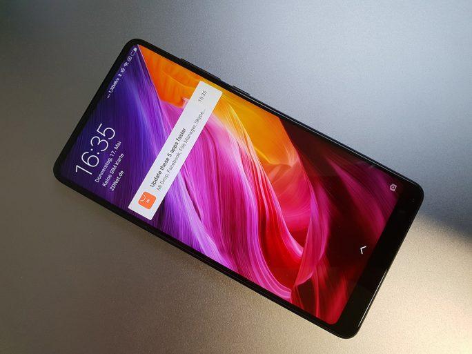 Xiaomi Mi MIX 2S (Bild: ZDNet.de)