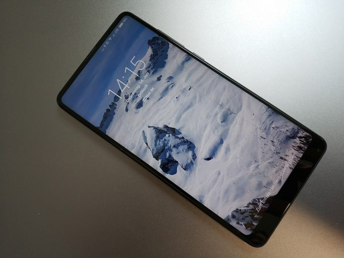 Xiaomi Mi MIX 2S: Sperrbildschirm (Bild: ZDNet.de)