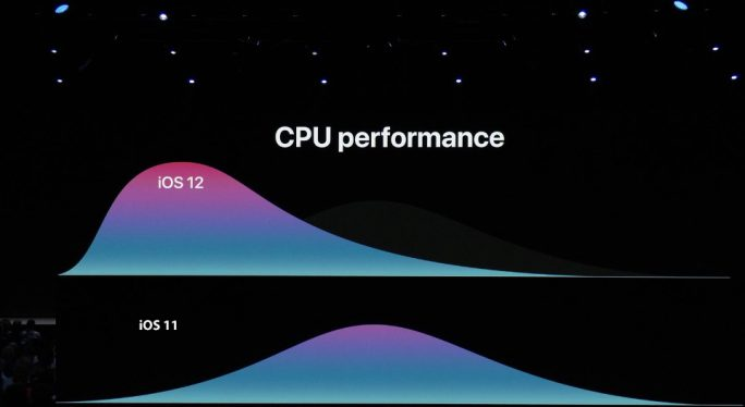 iOS 12: CPU (Bild: Apple)