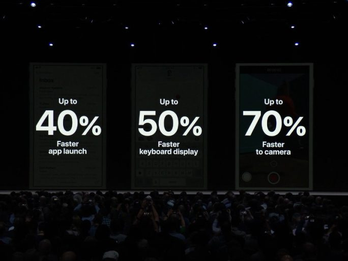 iOS 12: Apple verbessert die Performance (Bild: Apple)