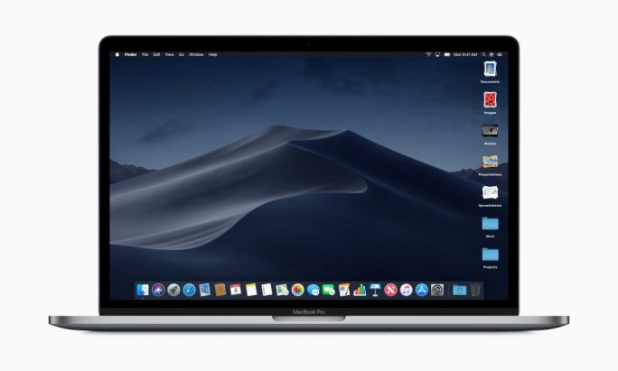 macOS 10.14 Mojave: Finder, Stacks (Bild: Apple)