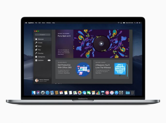 macOS 10.14 Mojave: Mac App Store (Bild: Apple)