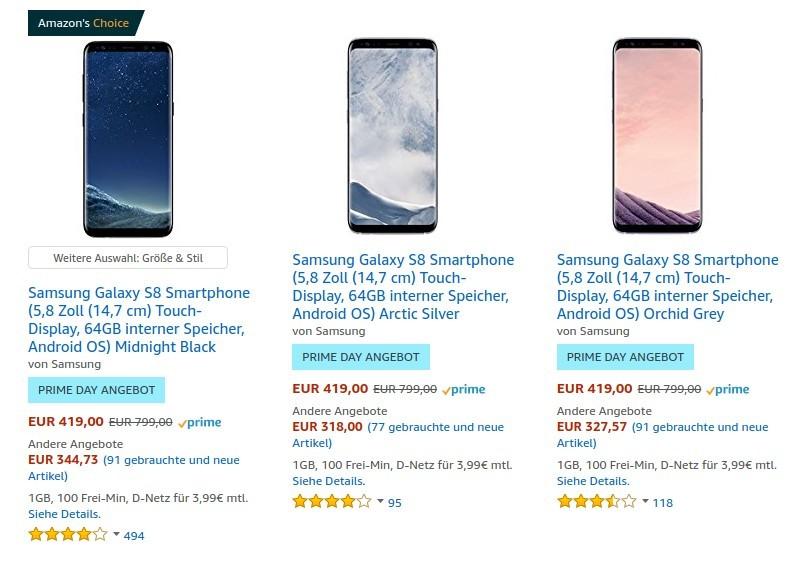 Amazon Prime Day: SSDs, Smartphones und microSD-Karten besonders günstig