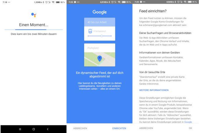 Google Assistant: Einrichtung nach Änderung der Adressen in Google Maps problemlos (Bild: ZDNet.de)