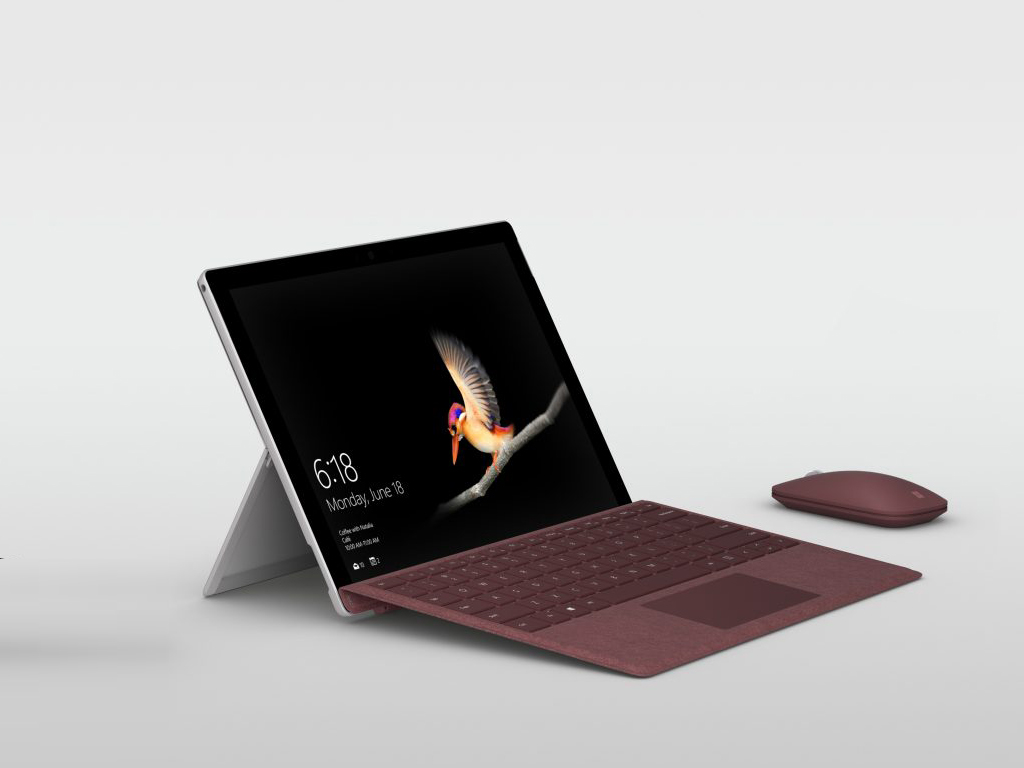 surface go microsoft stellt 10 zoll tablet f r 450 euro. Black Bedroom Furniture Sets. Home Design Ideas