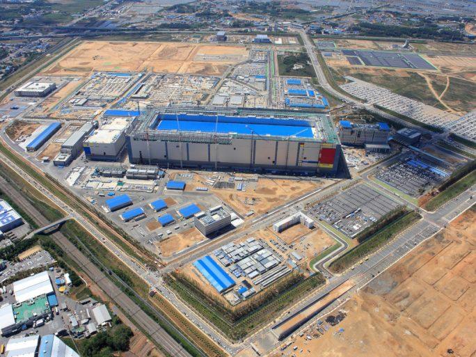 Samsung will den 8Gb LPDDR5-DRAM in Pyeongtaek herstellen (Bild: Samsung)