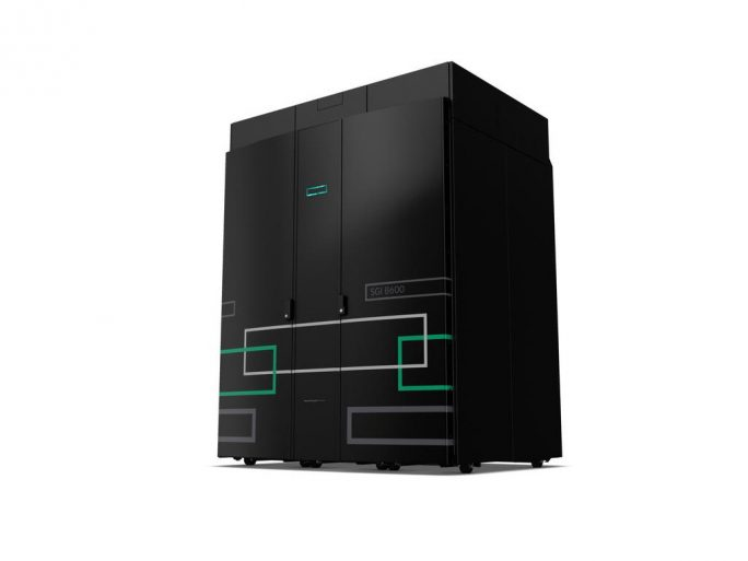 HPE SGI 8600 System (Bild: HPE)