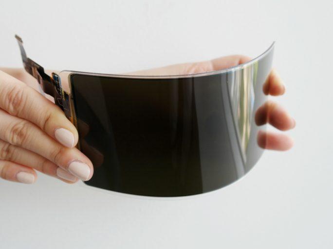 Unzerbrechliches Display (Bild: Samsung)