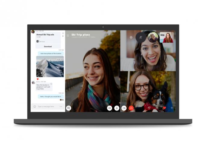 Skype 8.0 (Bild: Microsoft)