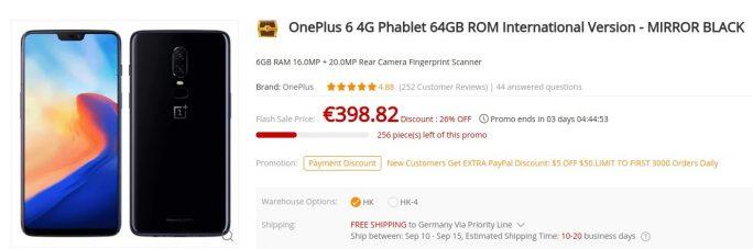 OnePlus 6 für 399 Euro (Bild: ZDNet.de)
