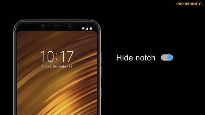Pocophone F1: Hide Notch (Bild: Xiaomi)