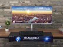 Samsung stellt QLED-Monitor mit Thunderbolt 3 vor