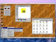 Windows 95 als App für Linux, macOS und Windows