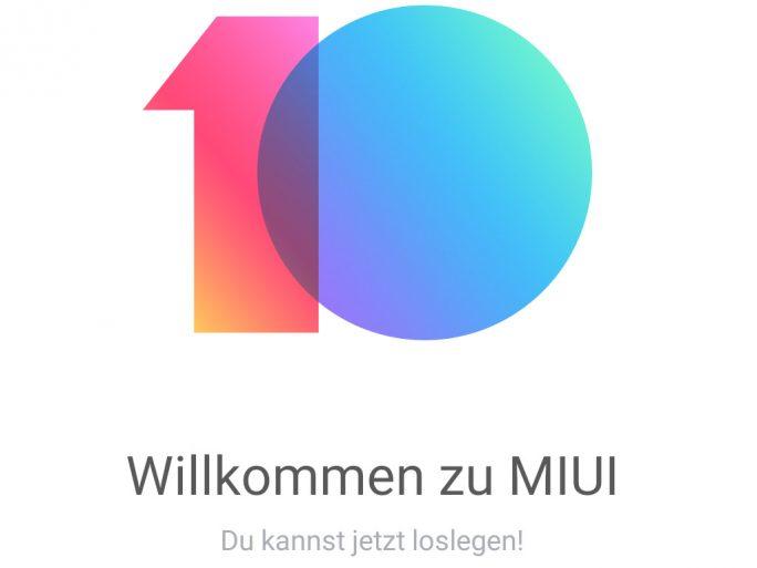 Xiaomi Mi MIX 2S: MIUI 10 auf Basis von Android 9 Pie (Bild: ZDNet.de)