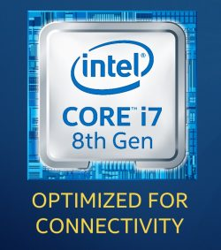 "Intel ergänzt das Logo um ""Optimized for Connectivity"" (Bild: Intel)."