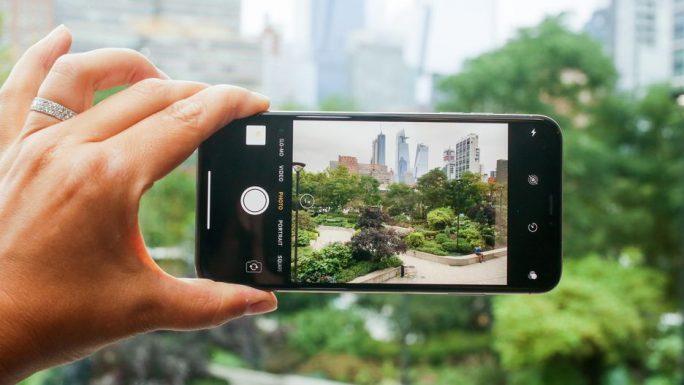 iPhone XS: Videoaufnahme (Bild: CNET)