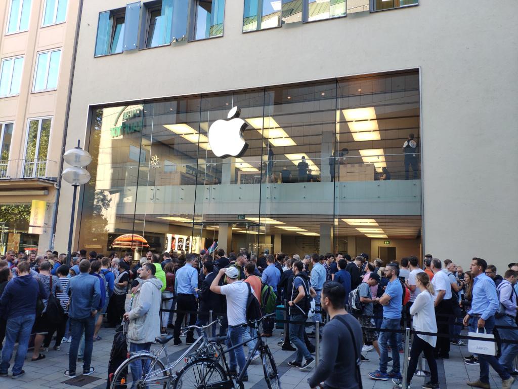 Verkaufsstart von iPhone XS: Weniger Andrang als letztes Jahr