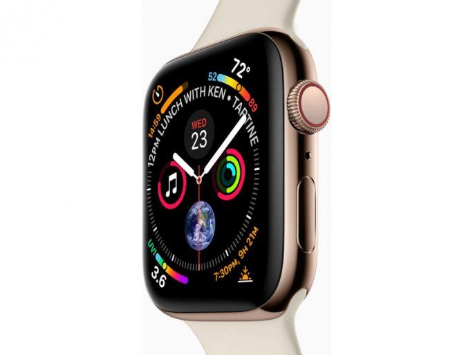 Apple Watch Series 4 2018 (Bild: Apple)