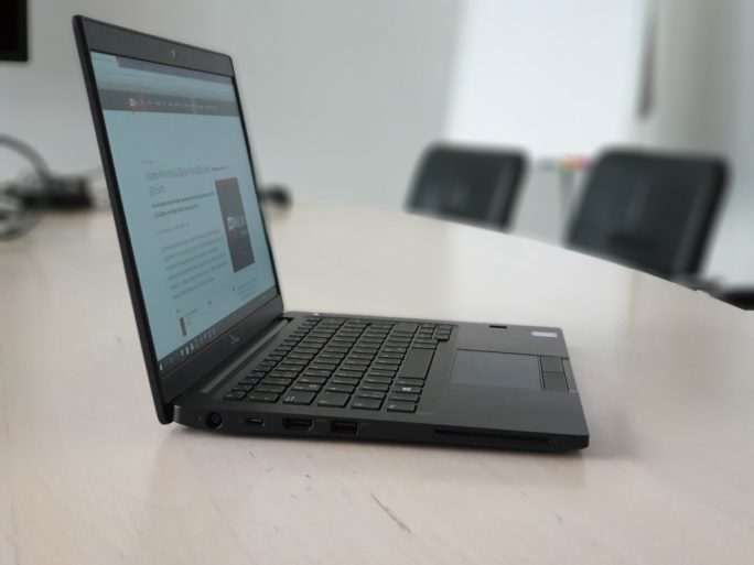 Dell Latitude 7390 (Bild: ZDNet.de)