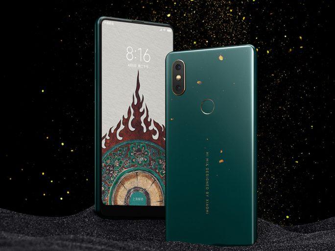Mi MIX 2S in Jade/Smaragdgrün (Bild: Xiaomi)