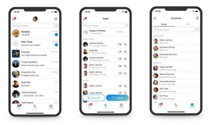 Skype wird erneut angepasst (Bild: Microsoft)