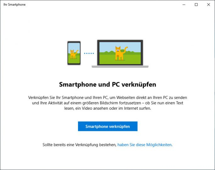 Windows 10. Ihr Smartphone alt (Screenshot: ZDNet.de)