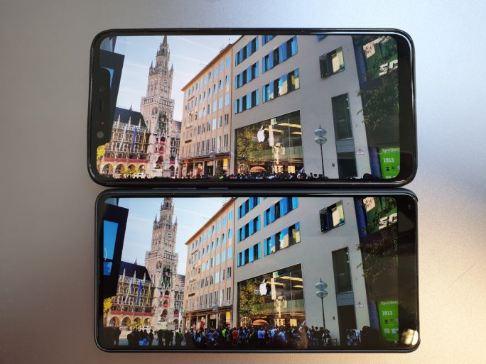 Xiaomi MIX 2S, Mi 8 Notch (Bild: ZDNet.de)