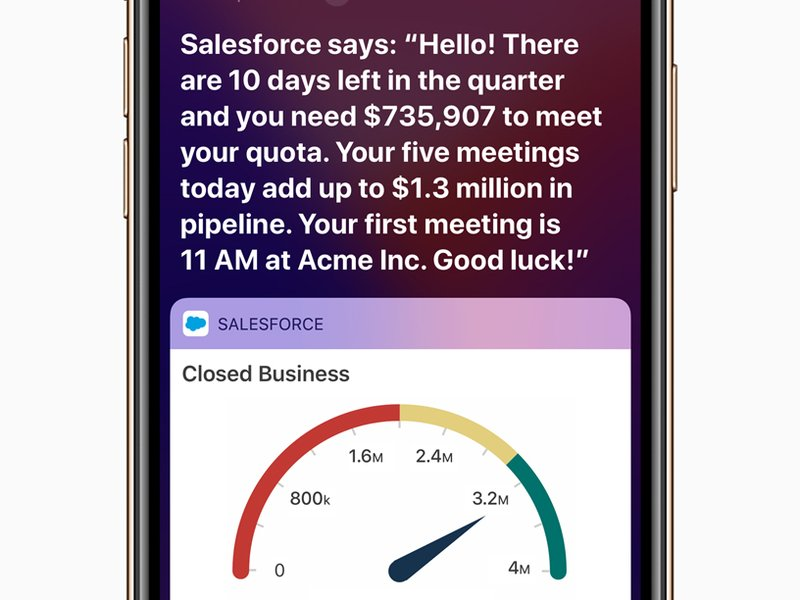 Apple und Salesforce vereinbaren Partnerschaft für App-Entwicklung