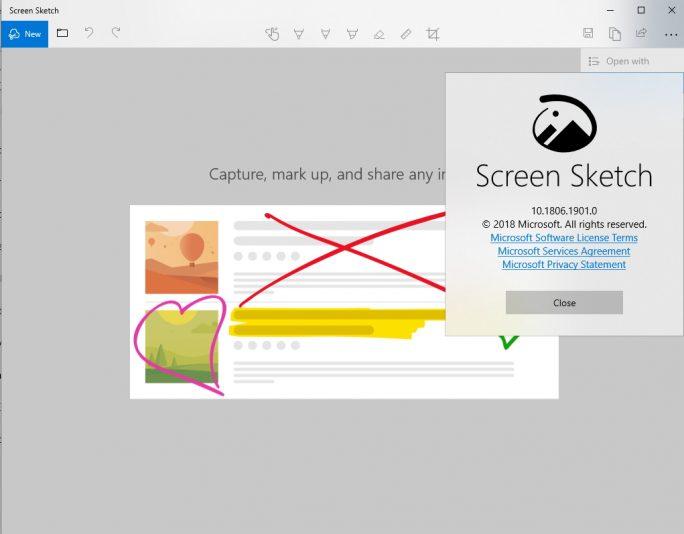 Windows 10 erhält ein neues Tool für Screenshots (Screenshot: Thomas Joos).