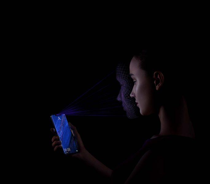 Huawei Mate 20 Pro: Face-Unlock (Bild: Huawei)