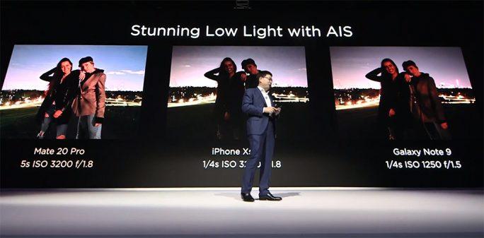 Huawei Mate 20: Kamera-Low-Light (Bild: Huawei)