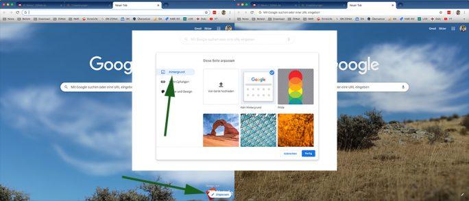 Themebeta: Theme in Chrome anpassen (Bild: ZDNet.de)
