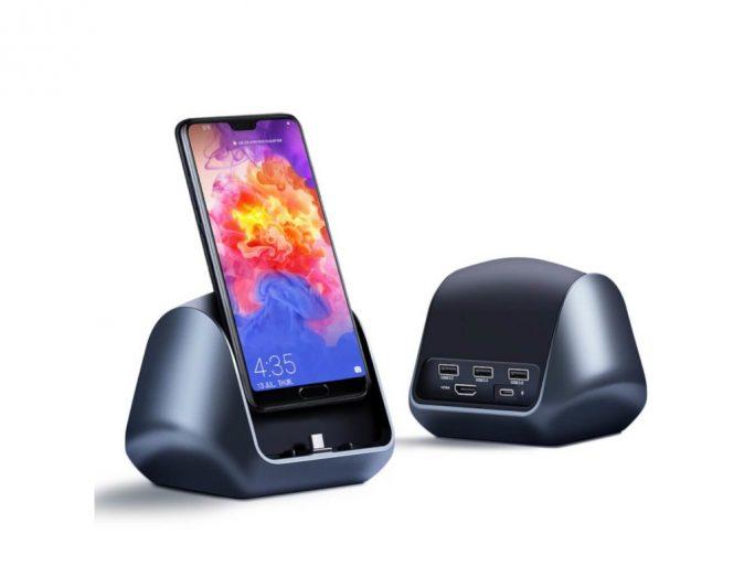Ugreen USB-C-Docking-Station für Huwei- und Samsung-Smartphones (Bild: Ugreen)