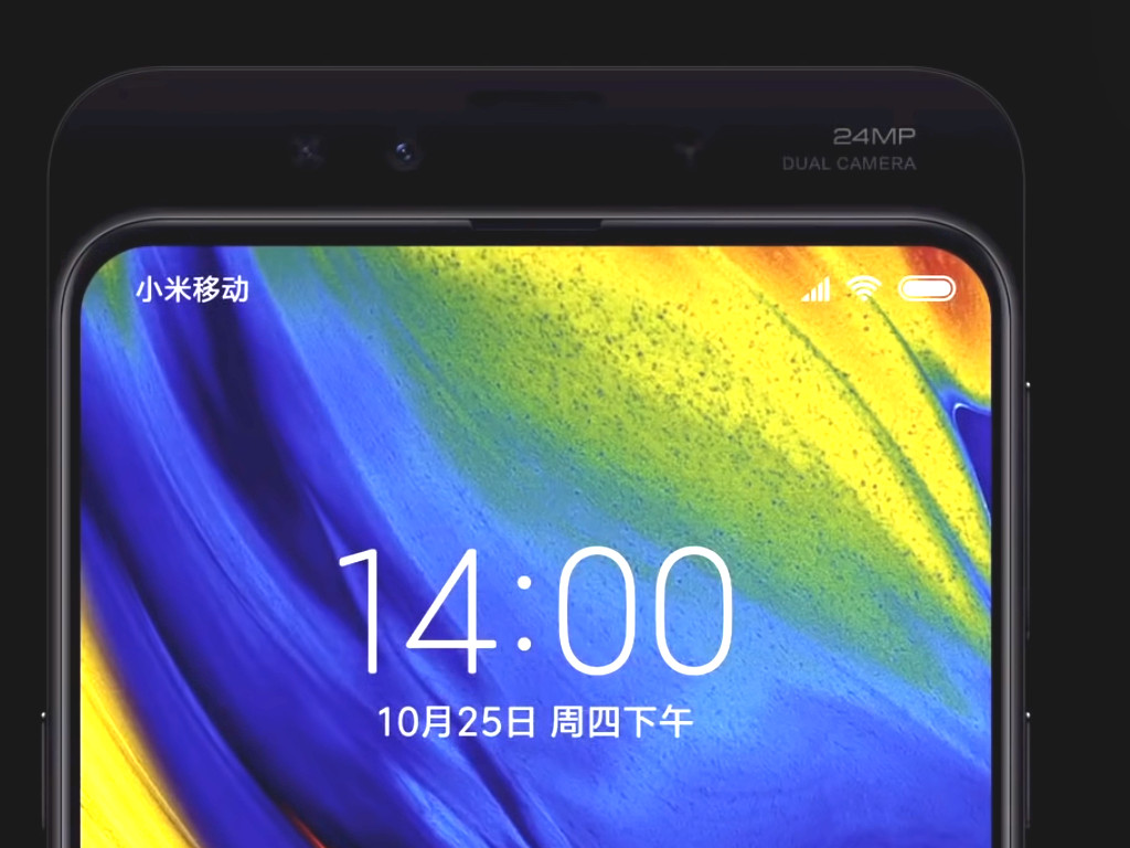 Xiaomi Mi MIX 3 mit 10 GByte RAM und 24-MP-Dual-Frontkamera