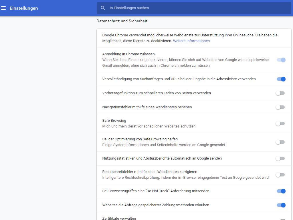 Chrome 70 Google Macht Automatische Anmeldung Im Browser Rückgängig