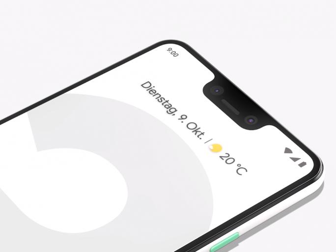 Pixel 3 XL (Bild: Google)