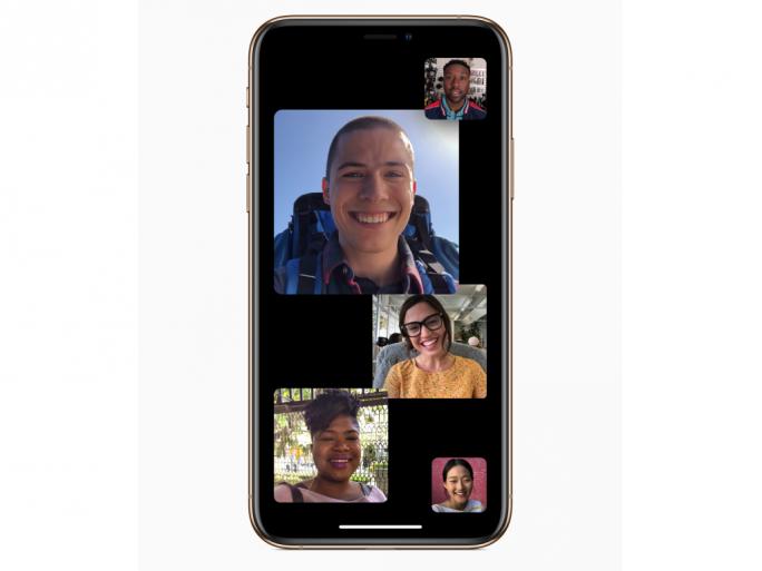 Gruppen-Facetime (Bild: Apple)