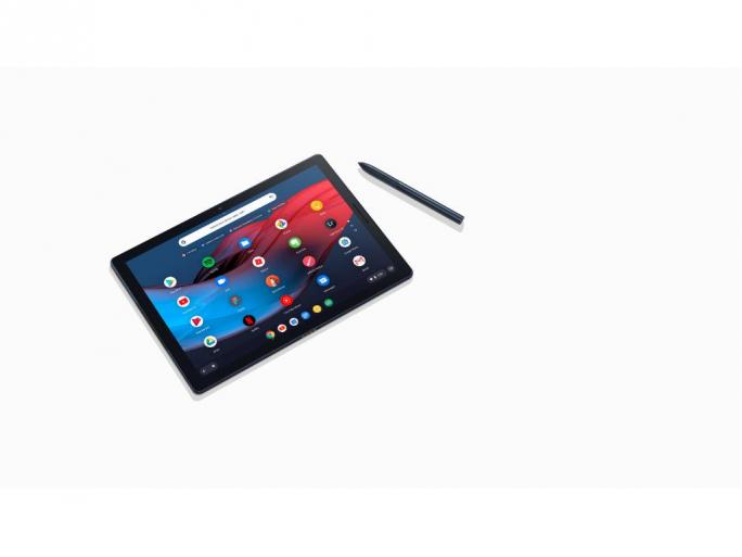 Pixel Slate mit Pixelbook Pen (Bild: Google)