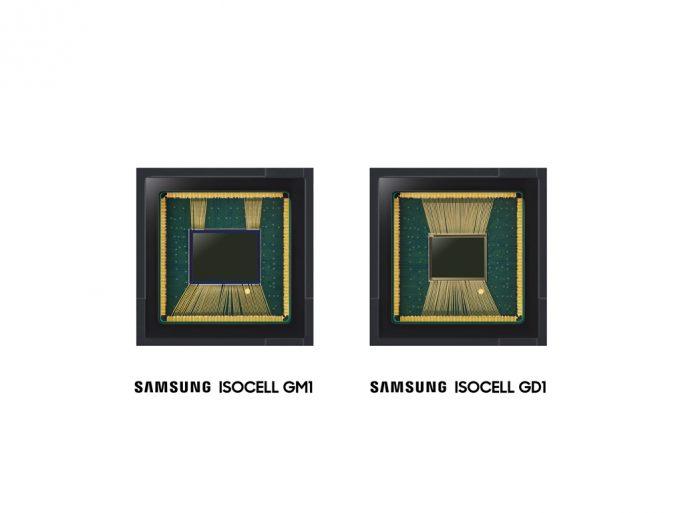 Isocell Bright GM1 und Isocell Bright GD1 (Bild: Samsung)
