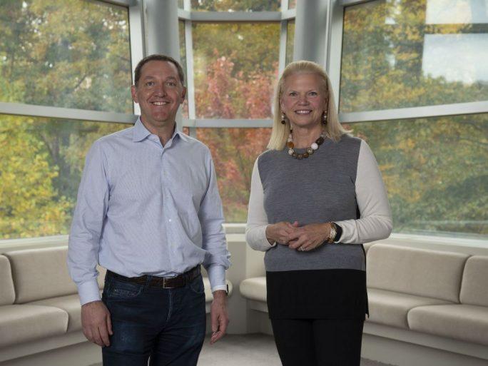 Whitehurst und Rometty (Bild: IBM)